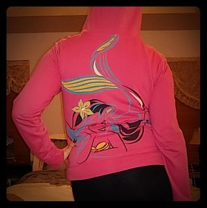 Little Mermaid hoodie sweatshirt jacket